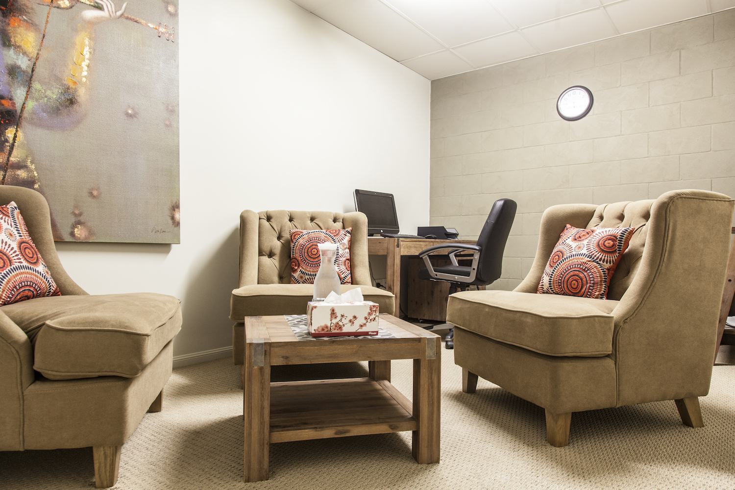 South East Psychology Therapy Room